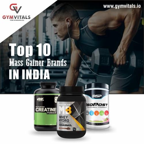 Top 10 Mass Gainer Brands In India