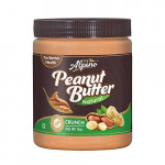 Alpino Natural Peanut Butter Crunch-Unsweetened-1Kg