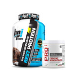 BPI Sports Best Whey Protein with GNC Creatine Monohydrate 83 Servings