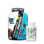 BPI Sports Best Whey Protein 5Lbs with Universal Nutrition Daily Formula Multivitamin