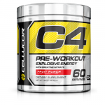 Cellucor C4 Pre-Workout Explosive Energy - Fruit Punch - 60 Servings