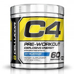 Cellucor C4 Pre-Workout Explosive Energy - Icy Blue Razz - 60 Servings