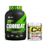 MusclePharm Combat 100% Whey 5 Lbs with Cellucor C4 60 Servings