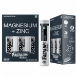 Fast&Up Magnesio - Pack of 3 Tubes - Lime & Lemon Flavour