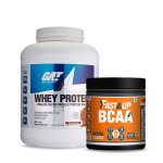 GAT Sport Whey Protein 5Lbs with Fast & Up BCAA 30 Servings
