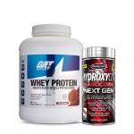 GAT Sport Whey Protein 5Lbs with MuscleTech Hydroxycut NextGen Fat Burner