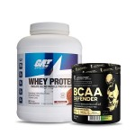 GAT Sport Whey Protein 5Lbs with Kevin Levrone BCAA Defender