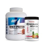 GAT Sport Whey Protein 5Lbs with Scivation Xtend BCAA 30 Servings