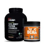 GNC AMP Gold 100% Whey 2Kg with Fast&Up BCAA 30 Servings