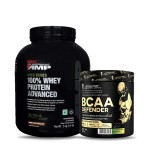 GNC AMP Gold 100% Whey 2Kg with Kevin Levrone BCAA Defender