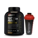 GNC AMP Amplified Gold 100% Whey Protein Advanced-Double Rich chocolate - 4.4 Lbs