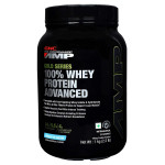 GNC AMP Amplified Gold 100% Whey Protein Advanced - Vanilla Ice Cream - 2.2 Lbs