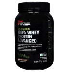 GNC AMP Amplified Gold 100% Whey Protein Advanced - Double Rich Cococlate - 2.2 Lbs
