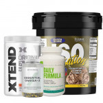 Ultimate Nutrition Isosensation 5Lbs + Xtend BCAA + Myprotein Fish Oil + Universal Nutrition Daily Formula