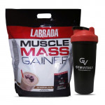 Labrada Muscle Mass Gainer - Chocolate Flavour - 5 Kg