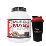 Labrada Muscle Mass Gainer - Chocolate Flavour - 3Kg