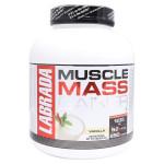Labrada Muscle Mass Gainer -  Vanilla - 3 kg