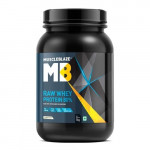 MuscleBlaze Raw Whey Protein - 2.2 Lbs - 1 Kg - 33 Servings - Unflavoured
