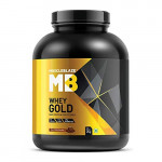 MuscleBlaze Whey Gold Protein-4.4Lbs-Rich Milk Chocolate