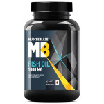 MuscleBlaze Fish Oil - 1000 mg - 90 softgels