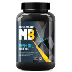 MuscleBlaze Fish Oil - 1000 mg - 180 softgels