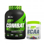 MusclePharm Combat 100% Whey with MusclePharm BCAA