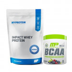 Myprotein Impact Whey Protein 2.5Kg with MusclePharm BCAA