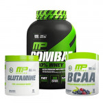 MusclePharm Combat 100% Whey with MP Glutamine and MP BCAA