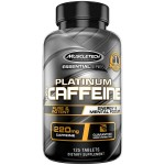 Muscletech Essential Series Platinum 100% Caffeine Tablets - 125 Tablets