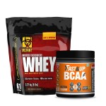 Mutant Whey Protein 5Lbs with Fast&Up BCAA 30 Servings