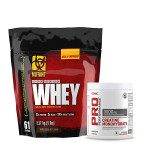 Mutant Whey Protein 5Lbs with GNC Creatine Monohydrate 83 Servings