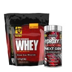 Mutant Whey Protein 5lbs with MuscleTech Hydroxycut NextGen Fat Burner