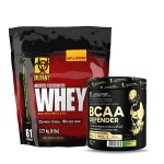 Mutant Whey Protein 5Lbs with Kevin Levrone BCAA Defender
