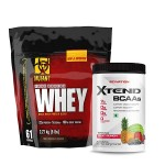 Mutant Whey Protein 5lbs with Scivation Xtend BCAA 30 Servings