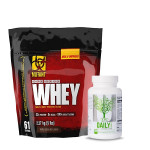 Mutant Whey Protein 5Lbs with Universal Nutrition Daily Formula Multivitamin