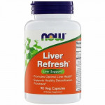 Now Foods Liver Refresh for Liver Support - 90 Veg Capules