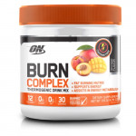 Optimum Nutrition ON Burn Complex Thermogenic Drink Mix - Peach Mango - 30 Servings