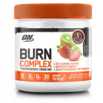 Optimum Nutrition ON Burn Complex Thermogenic Drink Mix - Strawberry Kiwi - 30 Servings