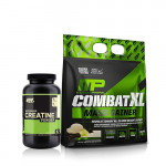 MusclePharm Combat XL Mass Gainer 12 Lbs with ON Creatine