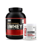 ON Gold Standard 100% Whey 5Lbs with GNC Creatine Monohydrate 83 Servings