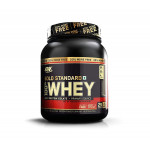 Optimum Nutrition (ON) Gold Standard 100% Whey Protein Powder - 2 lb + 20% More - Double Rich Chocolate