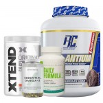 Ronnie Coleman RC Pro-Antium, 5Lbs + Xtend BCAA + Myprotein Fish Oil + Universal Nutrition Daily Formula