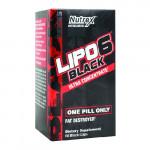 Nutrex Lipo-6 Black - 60 Capsules