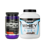 RSP Whey Protein Blend with Ultimate Nutrition BCAA