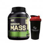 Optimum Nutrition Serious Mass - Vanilla - 6Lbs
